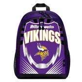 Minnesota Vikings Backpack Lightning Style
