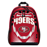 San Francisco 49ers Backpack Lightning Style