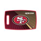 San Francisco 49ers Cutting Board Large