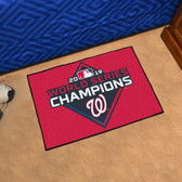 Washington Nationals  2019 World Series Champions Starter Mat