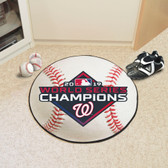 Washington Nationals  2019 World Series Champions Baseball Mat