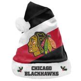 Chicago Blackhawks Santa Hat Basic
