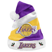 Los Angeles Lakers Santa Hat Basic