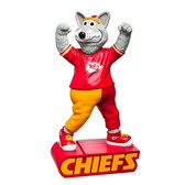 Kansas City Chiefs Garden Statue Mascot Design