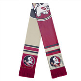 Florida State Seminoles Scarf Colorblock Big Logo Design