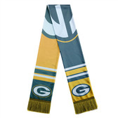 Green Bay Packers Scarf Colorblock Big Logo Design