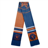Houston Astros Scarf Colorblock Big Logo Design
