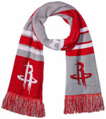 Houston Rockets Scarf Colorblock Big Logo Design