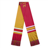 Iowa State Cyclones Scarf Colorblock Big Logo Design