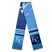 Kansas City Royals Scarf Colorblock Big Logo Design