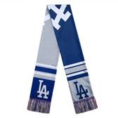 Los Angeles Dodgers Scarf Colorblock Big Logo Design