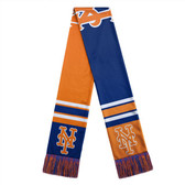 New York Mets Scarf Colorblock Big Logo Design