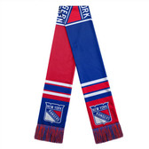 New York Rangers Scarf Colorblock Big Logo Design