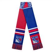 New York Rangers Scarf Colorblock Big Logo Design