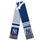 New York Yankees Scarf Colorblock Big Logo Design