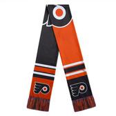 Philadelphia Flyers Scarf Colorblock Big Logo Design