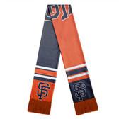 San Francisco Giants Scarf Colorblock Big Logo Design