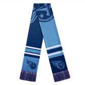 Tennessee Titans Scarf Colorblock Big Logo Design