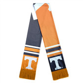 Tennessee Volunteers Scarf Colorblock Big Logo Design