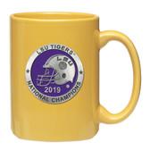 LSU Tigers 2019 National Champions Yellow Coffee Mug