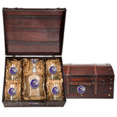 LSU Tigers 2019 National Champions Capitol Decanter Chest Set