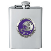 LSU Tigers 2019 National Champions Flask