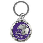 LSU Tigers 2019 National Champions Keychain
