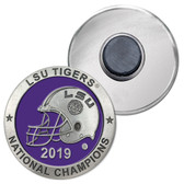 LSU Tigers 2019 National Champions Magnet