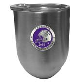 LSU Tigers 2019 National Champions Wine Tumbler