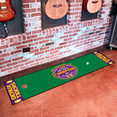 "LSU Tigers 2019 2020 National Champions Putting Green Mat 18""x72"""