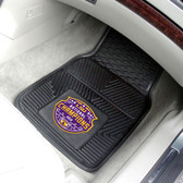 "LSU Tigers 2019 2020 National Champions 2-pc Vinyl Car Mat Set 17""x27"""