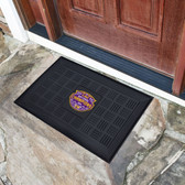 "LSU Tigers 2019 2020 National Champions Medallion Door Mat 19.5""x31.25"""