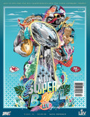 Super Bowl LIV 54 Official National Program Chiefs vs 49ers