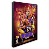 Kobe Bryant 11x14 Stretched Canvas Photo