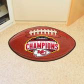 Kansas City Chiefs Super Bowl LIV 54 Football Mat