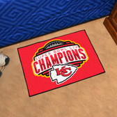 Kansas City Chiefs Super Bowl LIV 54 Starter Mat