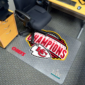 Kansas City Chiefs Super Bowl LIV 54 Chair Mat
