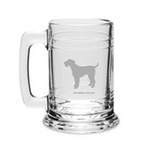 Airedale Terrier Deep Etched 15 oz Colonial Tankard