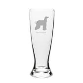 Afghan Greyhound Deep Etched 23 oz University Beer Pilsner