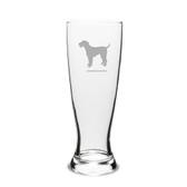 Airedale Terrier Deep Etched 23 oz University Beer Pilsner