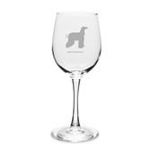 Afghan Greyhound 12 oz Classic White Wine Glass