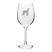 Afghan Greyhound 16 oz Classic White Wine Glass