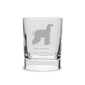 Afghan Greyhound Luigi Bormioli 11.75 oz Square Round Double Old Fashion Glass