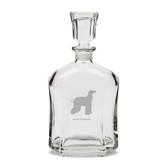 Afghan Greyhound 23.75 oz Classic Whiskey Decanter