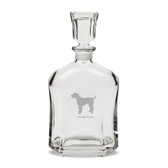 Airedale Terrier 23.75 oz Classic Whiskey Decanter