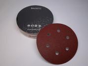 """BAOSTC 6"""" 6holes hook and loop sanding disc"""