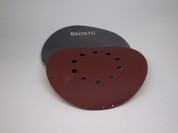 "BAOSTC 8 7/8"" 10holes hook and loop abrasive disc sandpaper for drywall sander"
