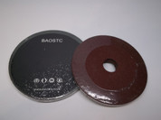 "BAOSTC 4"" fiber disc,flexible firberglass backing,aluminum oxide for angle grinder"