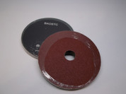 "BAOSTC 4.5"" fiber disc,flexible firberglass backing,aluminum oxide for angle grinder"