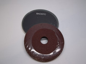 "BAOSTC 5"" fiber disc,flexible firberglass backing,aluminum oxide for angle grinder"